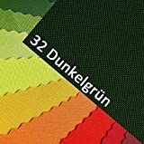 OXFORD 600D Farbe 32| Dunkelgrün Polyester Stoff 1 lfm