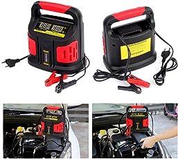 Dazone Auto Batterieladegerät 12V 24V 15A Akkuladegerät Motorrad LKW PKW KFZ