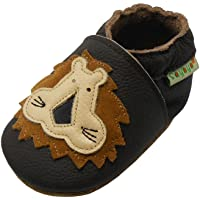 SAYOYO Chaussures Bébé Chaussons Bébé Chaussons Cuir Souple