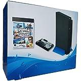 جهاز تشغيل العاب الفيديو الرقمية بتصميم Playstation مع قرص صلب 100 جيجا مع اكثر من 50 لعبة ومقبضين تحكم