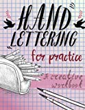 Hand Lettering for Practice Sheet, a Creative Purple Color Tone Worksheet