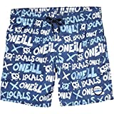 O'Neill Jungen Stack Boardshorts Bademode Badeshorts, Blue AOP, 128