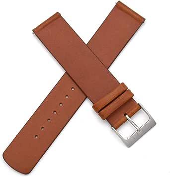Cinturino di ricambio intercambiabile in vera pelle da 20 mm per Skagen