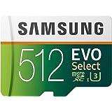 بطاقة مايكرو اس دي اكس سي سيليكت 512 جيجا من سامسونج ايفو، يو اتش اس-اي يو 1 بسرعة نقل 100 ميجا/الثانية فل اتش دي ودقة 4 كيه،