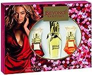 Beyonce Heat Eu De Parfum 15 ml + Rise Eu De Parfum 30 ml + Heat Rush Eu De Toilette 15 ml Set