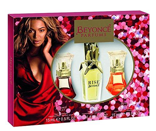 Beyonce 15 ml Hitze + Aufstieg + Wilde Orchidee (Beyonce Heat Parfum)