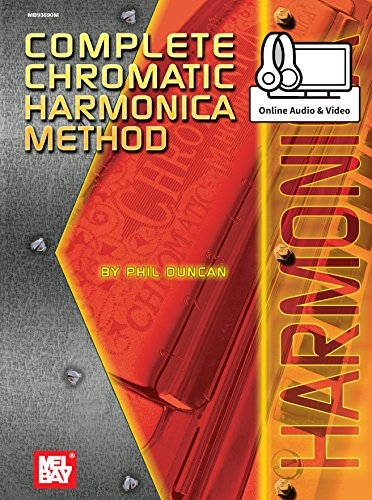 Complete Chromatic Harmonica Method (English Edition)