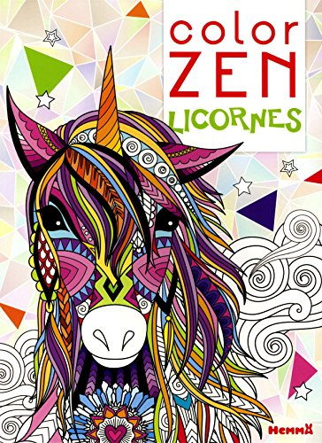 Color Zen - Licornes par COLLECTIF