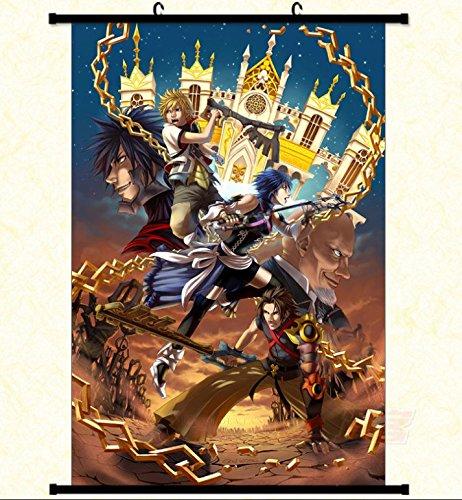 Wallscrolls-Wonderland Großes Kingdom Hearts Poster Wallscroll Aqua Roxas Terra Master Xehanort 60x90CM