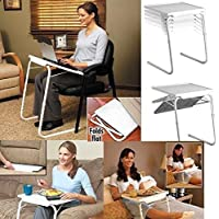 G4RCE Portable Multi-Purpose Table Mate As Seen On TV With 6 Adjustable Heights To Suit Activity Drawing