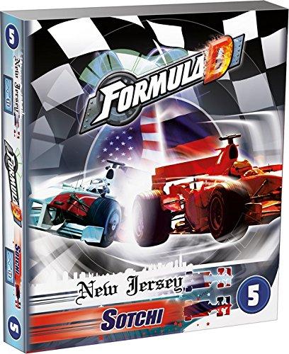 Preisvergleich Produktbild Asmodee 2193 - Formula D New Jersey Sotchi 5. Erweiterung, Brettspiel