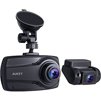 aukey dashcam dual 1080p front und r ck autokamera amazon. Black Bedroom Furniture Sets. Home Design Ideas