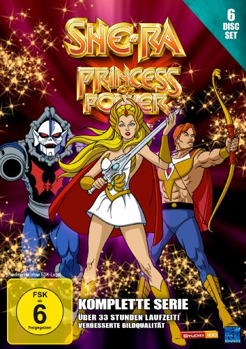 She-Ra – Princess of Power – Die komplette Serie [6 Disc Set]
