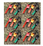 5X Feuerstein Feuerstahl Mini Feuerstarter 1000 Zündungen Magnesium Feuerstarter Feuerzeug Flint Stone Fire Steel Outdoor Survival Camping-Anzünder