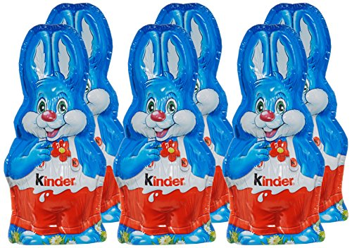 Kinder Cioccolato Coniglio Di Pasqua 55g Confezione Da 6