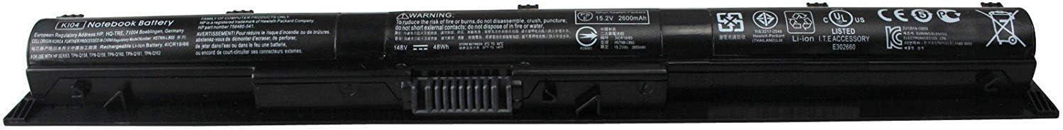 HP Battery KI04 (14.6V 2670mAh)