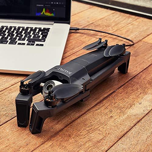 Parrot Anafi Base Drone con Videocamera HDR 4K con Gimbal con Inclinazione a 180°, Nero - 13
