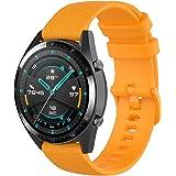 Wownadu 22MM Correa Compatible con Fossil Gen 5, Galaxy Watch 3 45MM Correa, Pulsera Deportiva Silicona Repuesto Compatible c