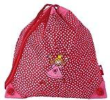sigikid 23063 Mädchen, Turnbeutel, Motiv Prinzessin, Pinky Queeny, pink