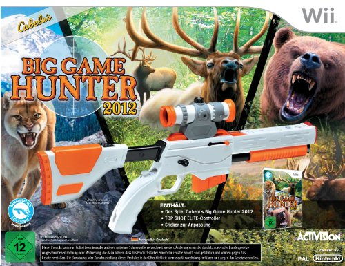 Top-shot-elite-wii (Cabela's Big Game Hunter 2012 (Bundle inkl. Top Shot Elite Gun Controller))