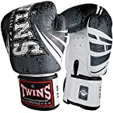 Twins Special Boxhandschuhe, Leder, TW5, schwarz Größe 12 Oz