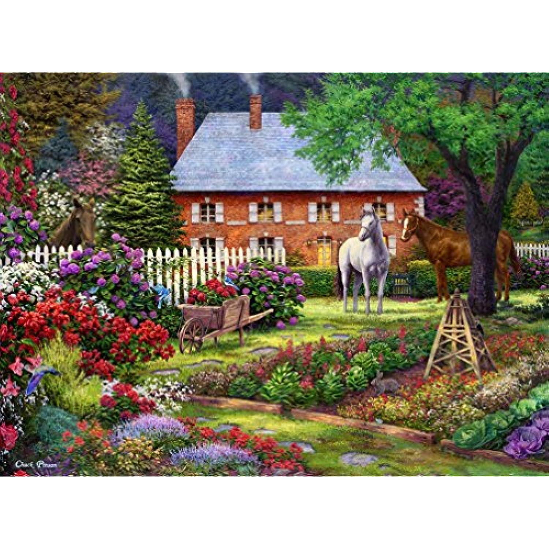 Puzzle 2000 pièces - Chuck Pinson - - - The Sweet Garden ebd4c4