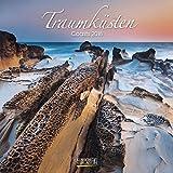 Traumküsten 2018: Broschürenkalender mit Ferienterminen. Bilder von Küste und Meer. 30 x 30 cm - Wandkalender