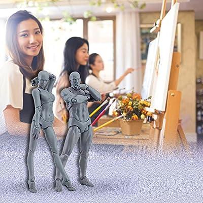 lzn Körper Chan & Kun PVC Movebale Action Figure Modell Für SHF Version 2,0 Geschenke 2 Teile / satz Licht von lzn
