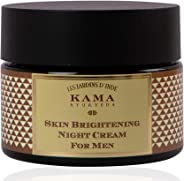 Kama Ayurveda Skin Brightening Night Cream for Men, 50g
