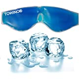 TOWINO® Cooling Gel Relaxing Eye Mask for Dark Circles, Dry Eyes, Cooling Eyes, Pain Relief, Redness, Eye Patches, Sleeping C