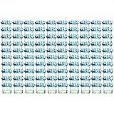 100er Set Sturzglas 125 ml Marmeladenglas Einmachglas Einweckglas To 66 blau karrierter Deckel