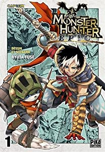 Monster Hunter Epic Edition simple Tome 1
