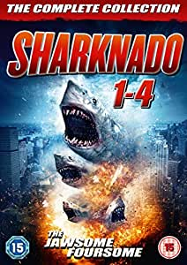 Sharknado 1-4 Box Set [DVD] [UK Import]