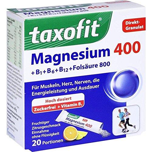 Taxofit Magnesium 400+b1+ 20 stk