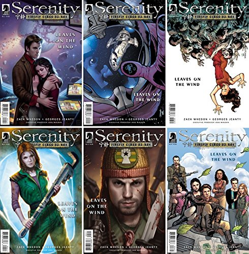 Serenity: Leaves on the Wind - Mixed Covers A and B Full Set (Issues 1-6 of 6)