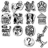 cucciolo di cane perline e ciondoli per braccialetti Pandora
