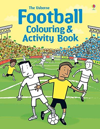 Football colouring activity book. Ediz. illustrata (Colouring Books)