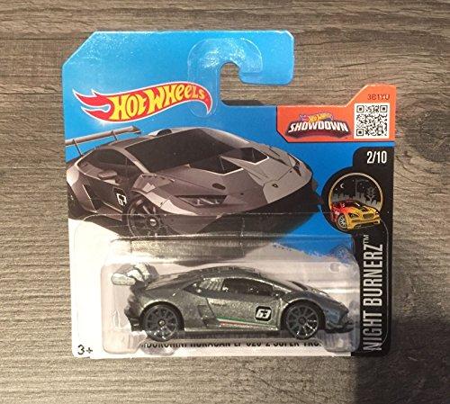 Hot Wheels 2016 Lamborghini Huracan LP620-2 Super Trofeo HW Night Burnerz 82/250 (Short Card)