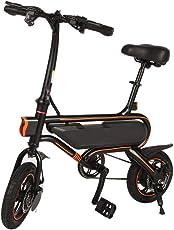 ALTERDJ Elektrofahrrad Faltbar 12 Zoll Reifen E-Bike,36V 250W Heckmotor, Max Belastung: 120kg, Höchstgeschwindigkeit: 30 km/h