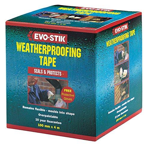 12-x-evo-stik-self-adhesive-flexible-weatherproofing-tape-75mm-x-4m-012837-new