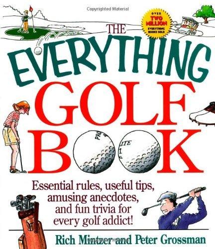 The Everything Golf Book by Rich Mintzer (1997-10-01) par Rich Mintzer;Peter Grossman
