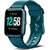 Blackview Smartwatch, Fitness Uhr Voller Touch Screen Fitness Tracker mit Pulsmesser, 5ATM Wasserdicht…