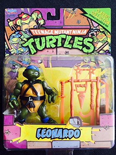 Teenage Mutant Ninja Turtles Classic Collection Action Figure, Leonardo, 4 Inches