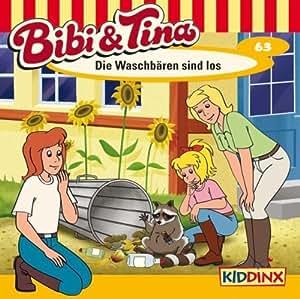Bibi und Tina Hörspiel CD 63 Die Waschbären Sind Los