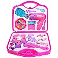 Kids Dukaan Beauty Make-up Set Toy kit Gift Set for Girls, Pretend and Play Gift Set (Pink).