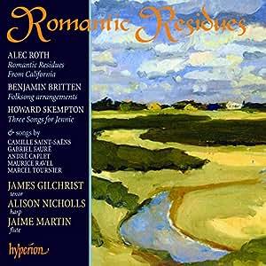 Romantic Residues  Songs for tenor & harp
