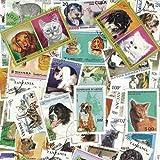Collezione di francobolli obliterati, motivo