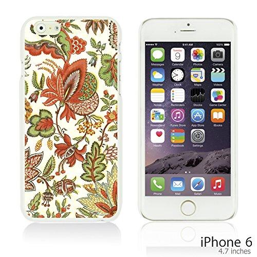 OBiDi - Flower Pattern Hardback Case / Housse pour Apple iPhone 6 / 6S (4.7 inch)Smartphone - Multicolor Floral Shapes Retro Floral