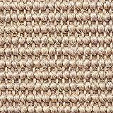 Teppichboden Auslegware | Sisal Naturfaser Schlinge | 400 cm Breite | natur | Meterware, verschiedene Größen | Größe: 3 x 4m