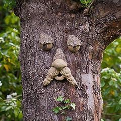 Idea Regalo - Little jack Forest Tree Face–ornamento divertente da giardino–divertimento in giardino per bambini o per regalo.